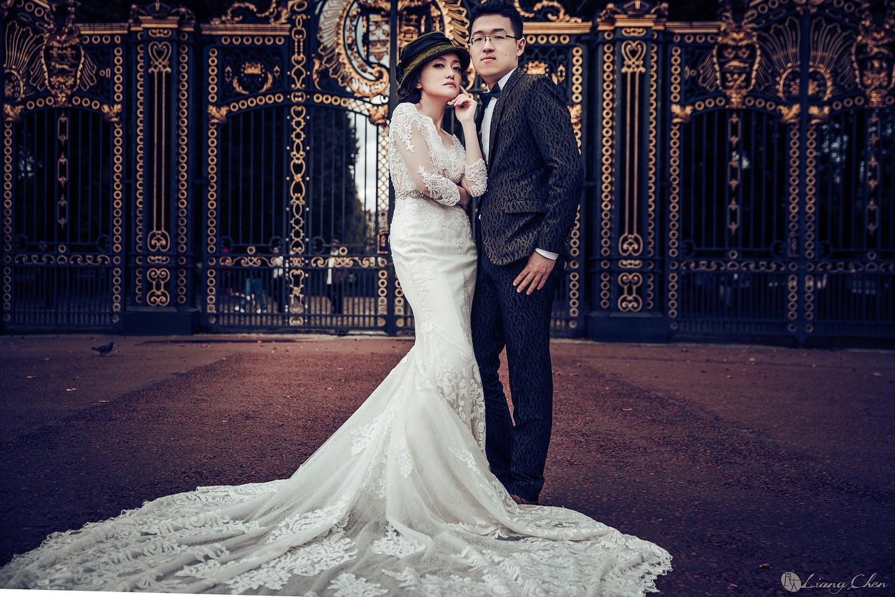 《海外婚紗》Karen & Richard/英國、倫敦