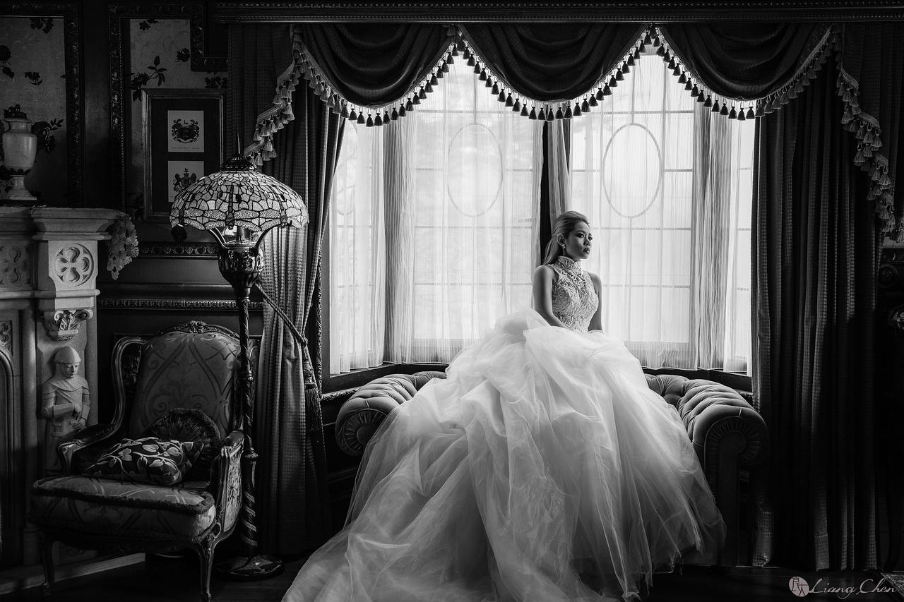 《婚紗》Audrey/老英格蘭、清境