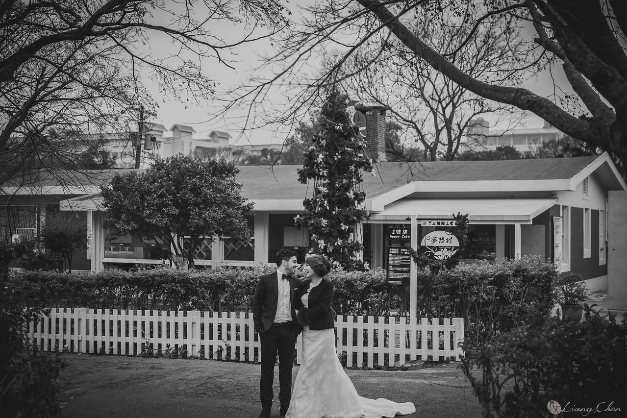 《婚紗》Chris & Bonnie/陽明山、美軍宿舍