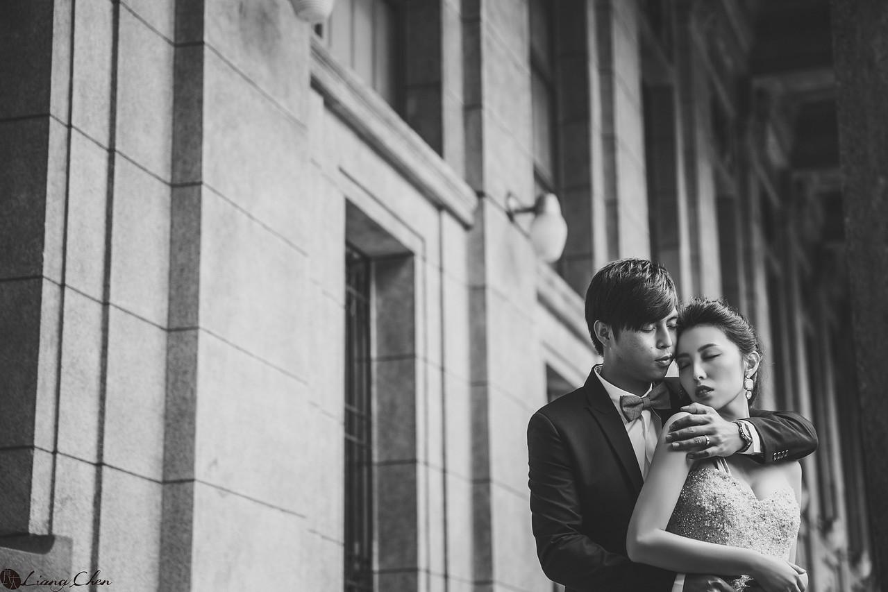 婚紗》Rebecca/台灣銀行、陽明山