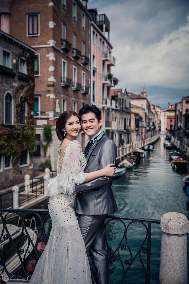 《海外婚紗》Yaya&Sam-義大利、米蘭、威尼斯、Como Lake