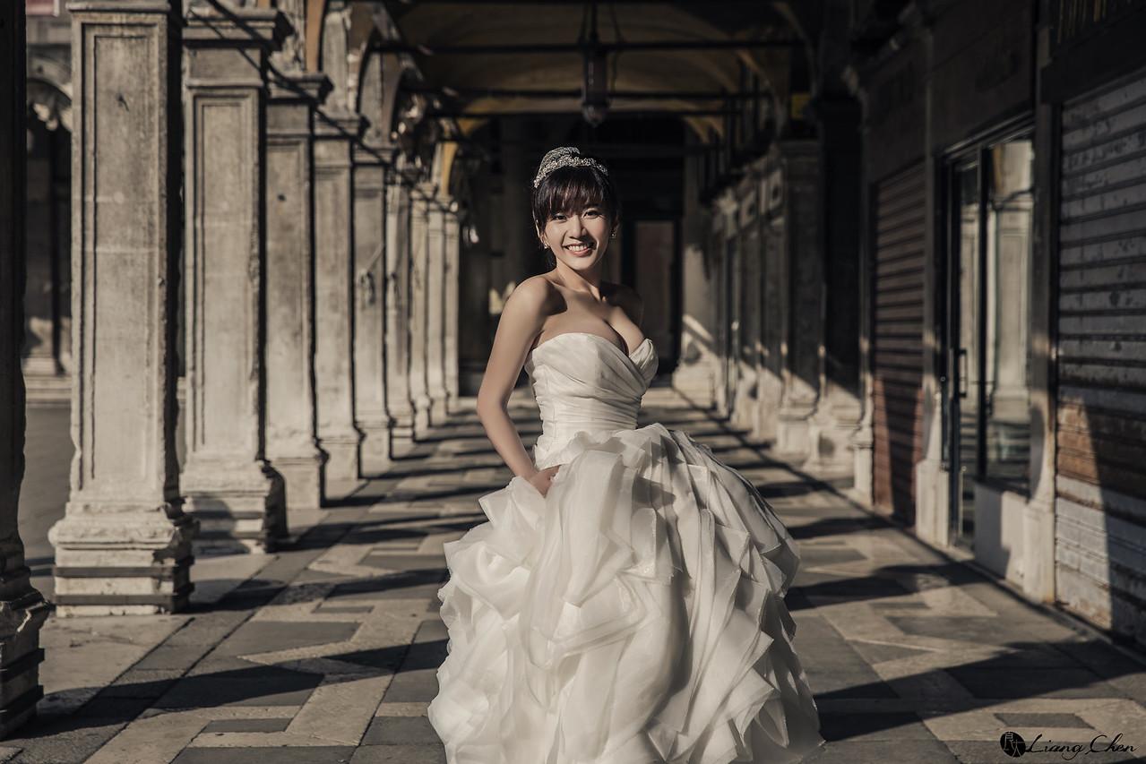 《海外婚紗》綺綺&爵安/義大利、威尼斯
